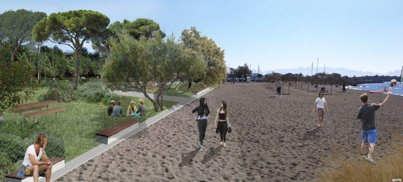Ελεύθερη πρόσβαση για όλους στις παραλίες της Γλυφάδας