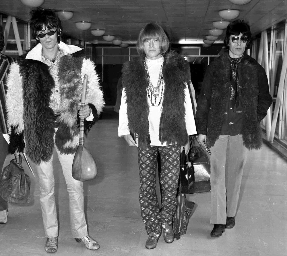 Ασπρόμαυρη φωτογραφία των Rolling Stones