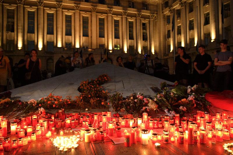 Κεριά στη Ρουμανία