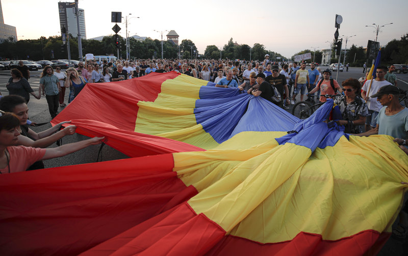 Πορεία στη Ρουμανία