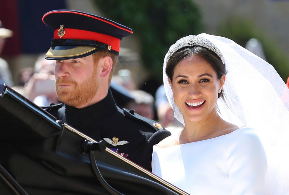 Χάρι και Μέγκαν από τον γάμο τους