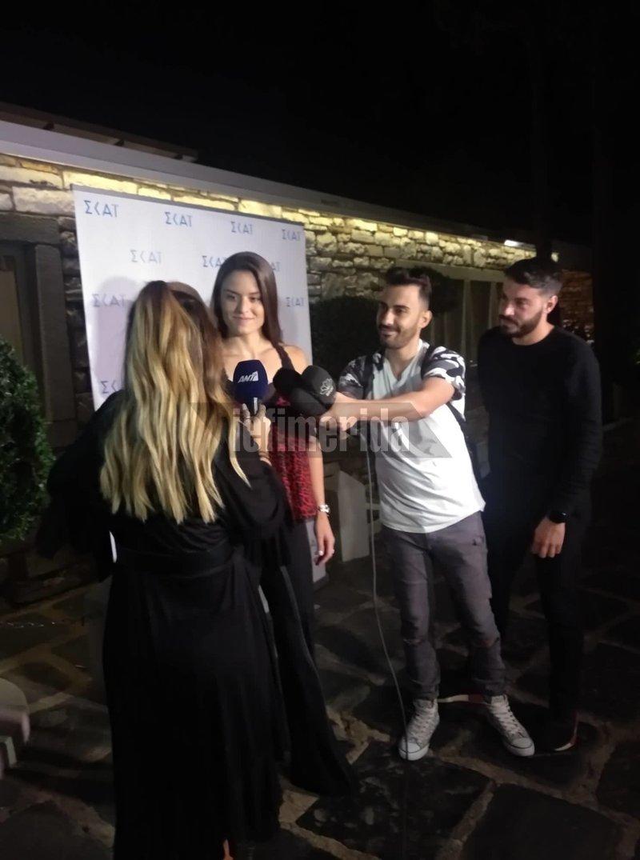 Η Μαρία Σάκκαρη στο πάρτι για τον Τζαν Γιαμάν στην Αθήνα