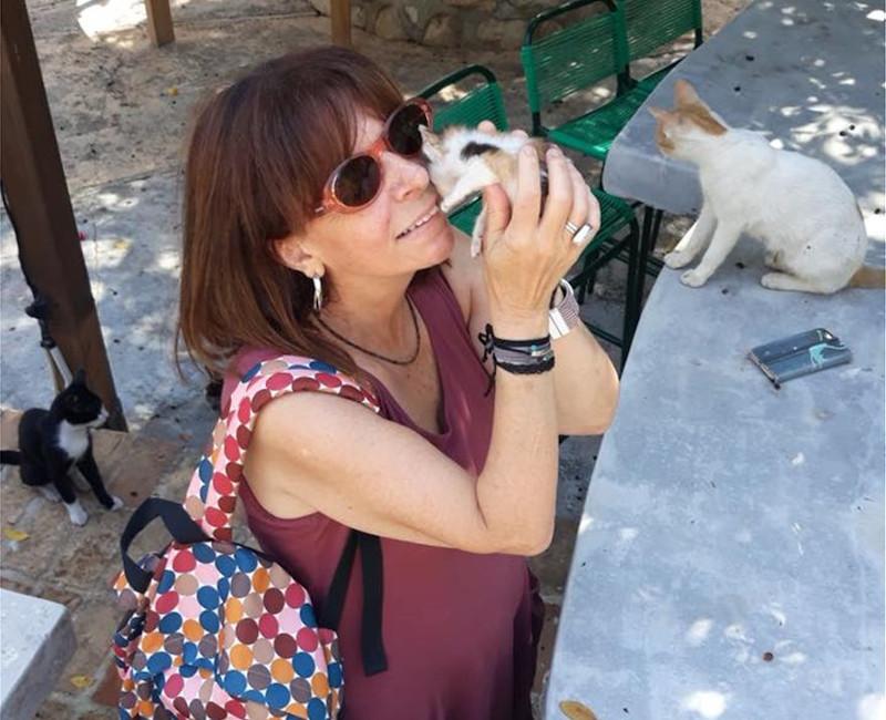 Η Αικατερίνη Σακελλαροπούλου τρέφει ιδιαίτερη αγάπη για τις γάτες