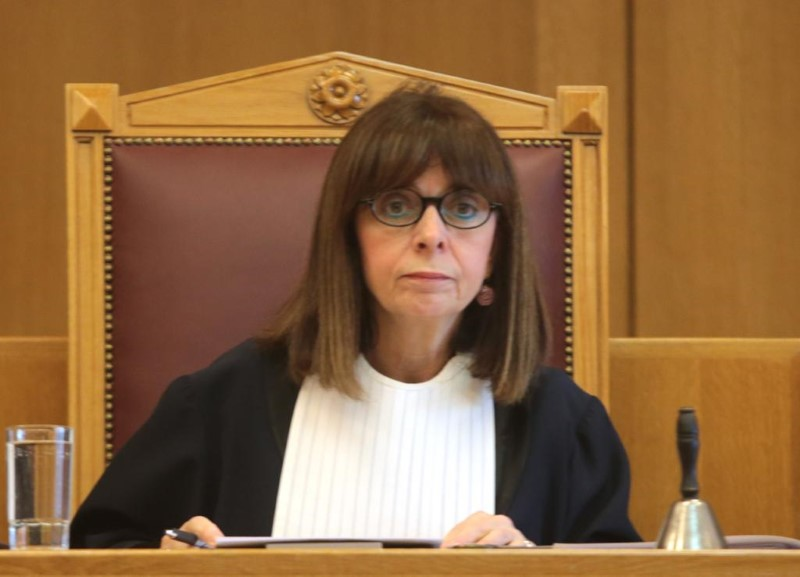 Η πρόεδρος του ΣτΕ Αικατερίνη Σακελλαροπούλου