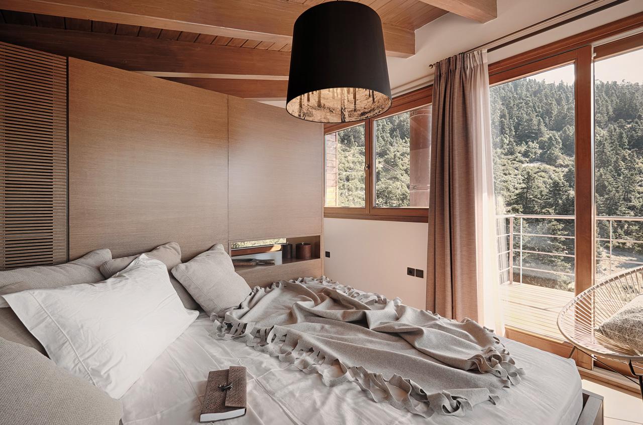 Υπνοδωμάτιο σπίτι στην Αράχωβα