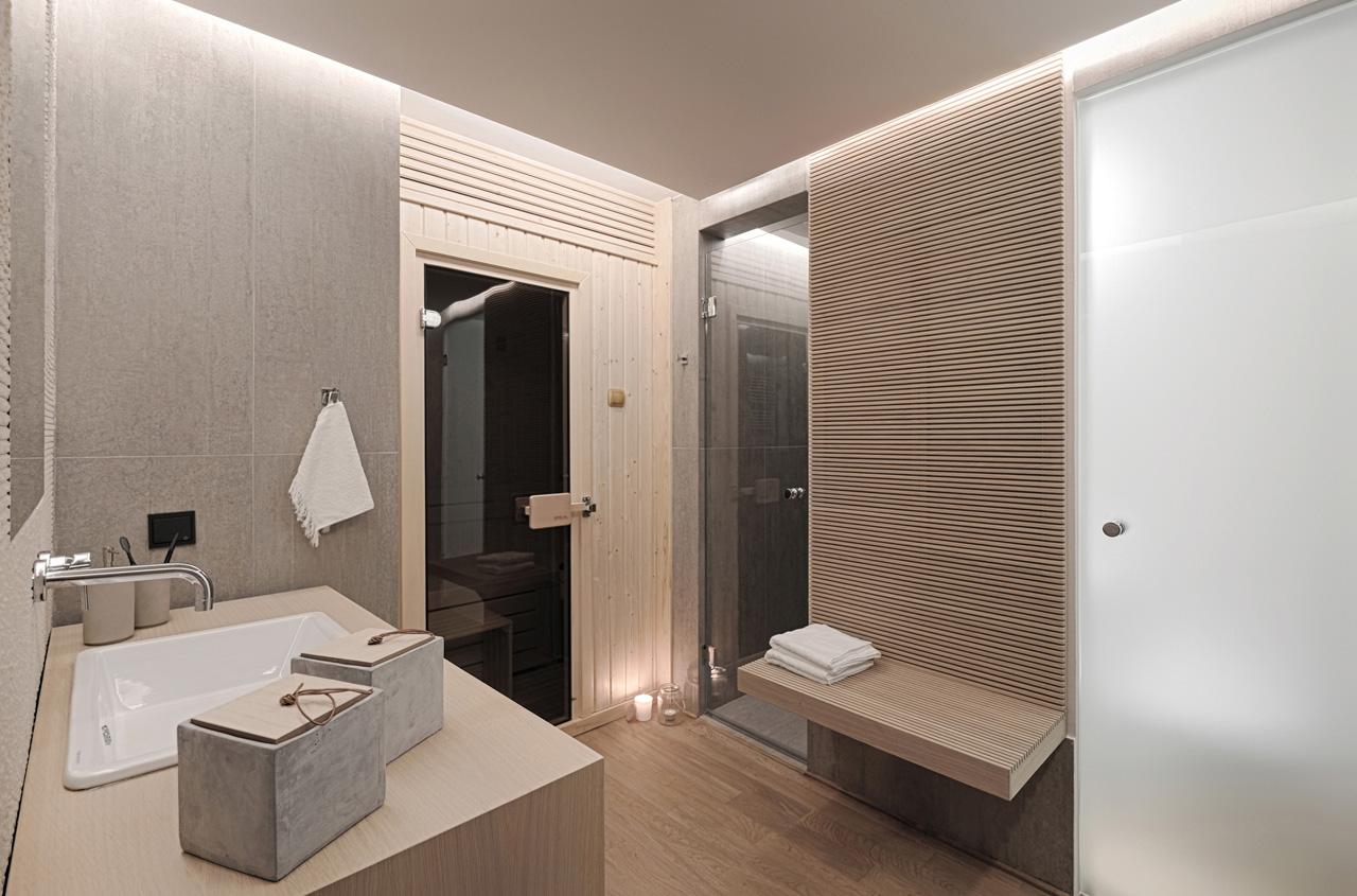 Μπάνιο σπιτιού στην Αράχωβα