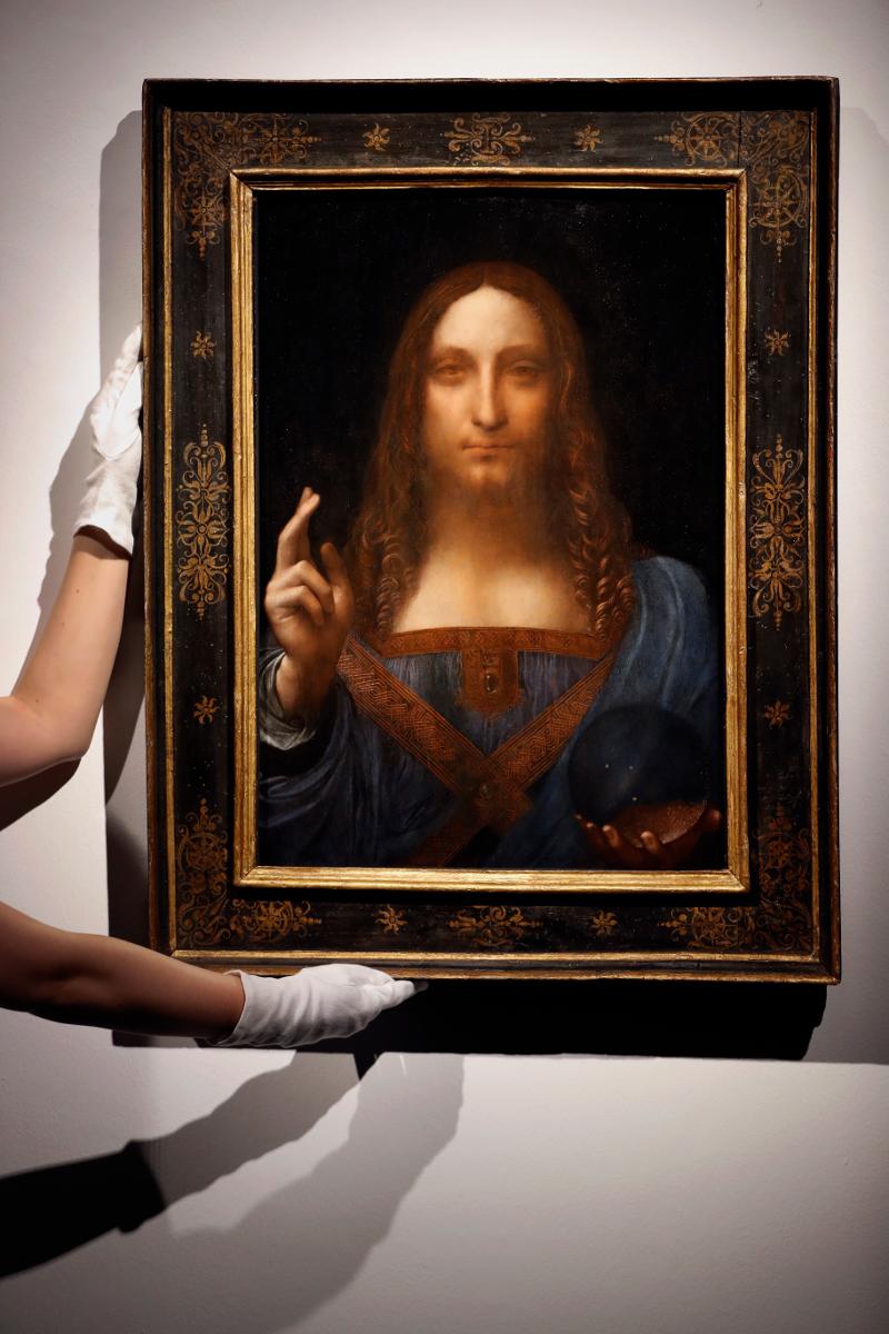 Ο πίνακας «Salvator Mundi»