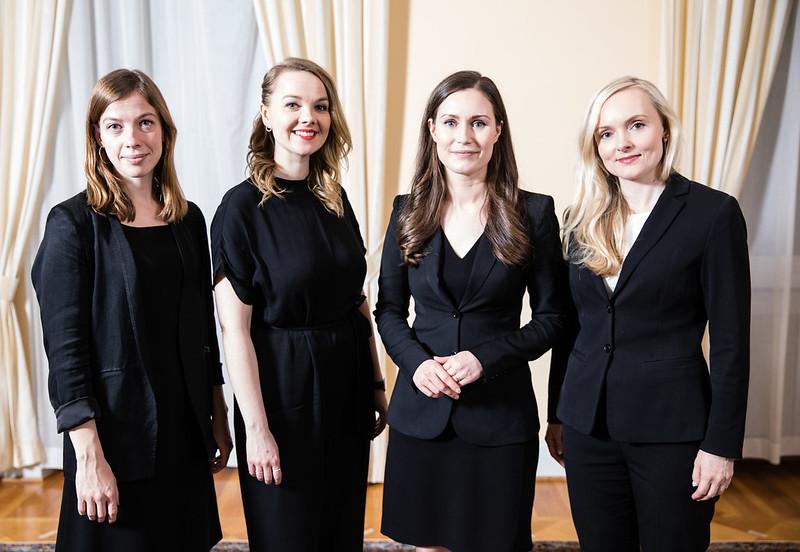 Σάνα Μαρίν και 3 υπουργοί
