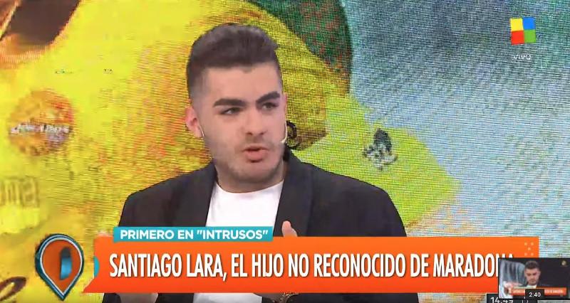 Ο Σαντιάγκο Λάρα, ισχυρίστηκε ότι είναι γιος του Μαραντόνα