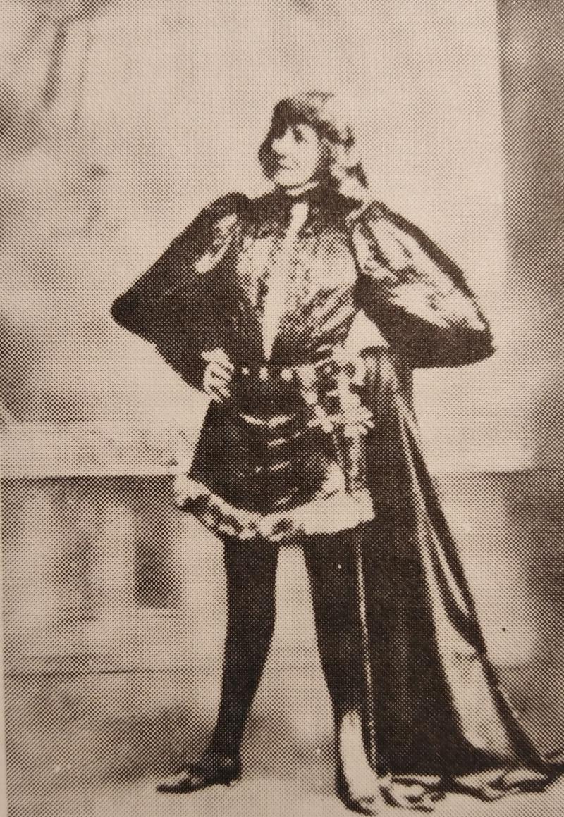 Η Σάρα Μπερνάρ ως Αμλετ