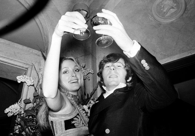 H Σάρον Τέιτ με τον άνδρα της Ρομάν Πολάνσκι το 1969