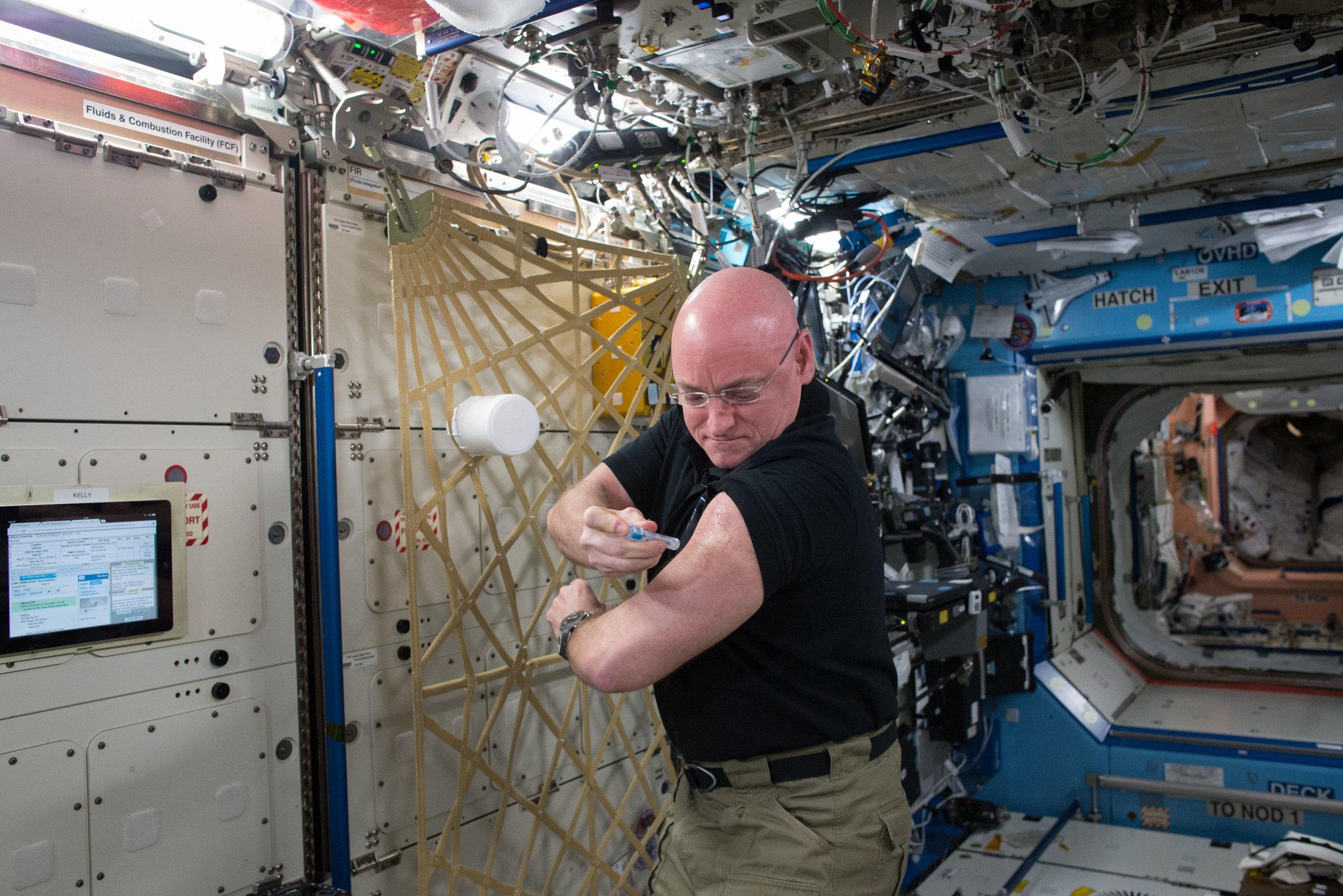 Ο αστροναύτης της NASA που έμεινε ένα χρόνο στο διάστημα.