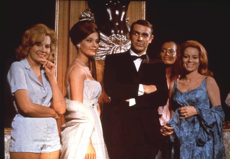 Ο διάσημος ηθοποιός Σον Κόνερι που ενσάρκωσε τον Τζέιμς Μποντ
