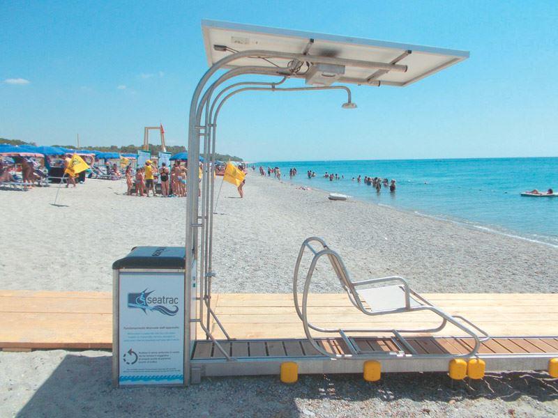 To SEATRAC έδωσε τη δυνατότητα σε άτομα με κινητικά προβλήματα να κάνουν μπάνιο μόνα τους