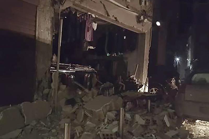 Εκτεταμένες ζημιές από την ισχυρή σεισμική δόνηση στην Αλβανία