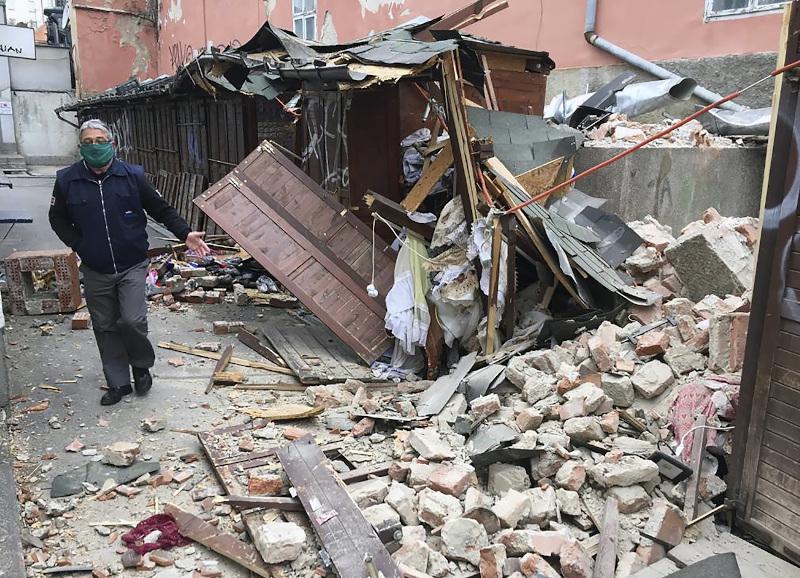 Ζημιές στην Κροατία από τον σεισμό των 5,3 Ρίχτερ