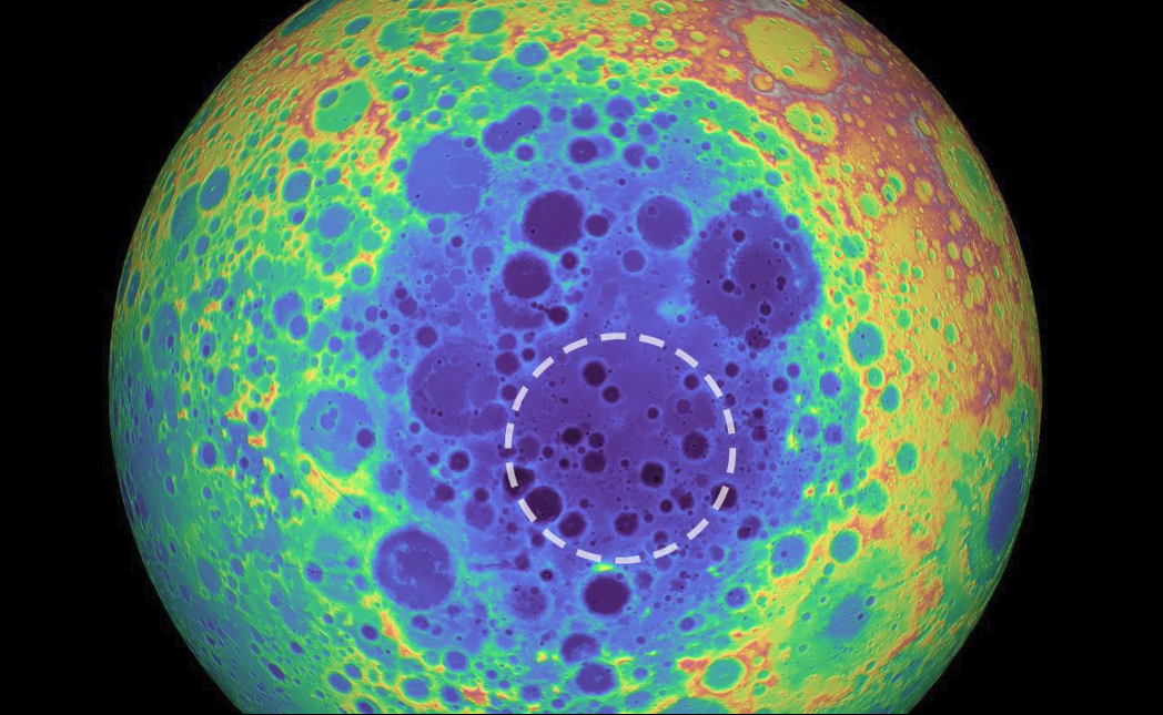 Η ανεξήγητη μάζα στη Σελήνη