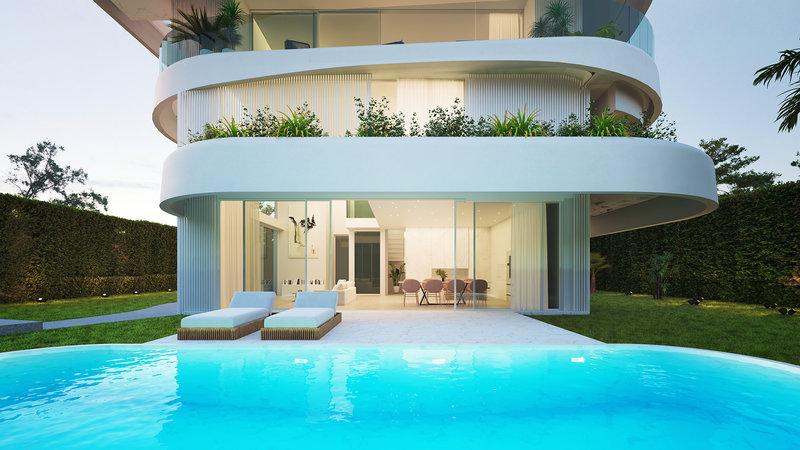 Κατοικία με πισίνα