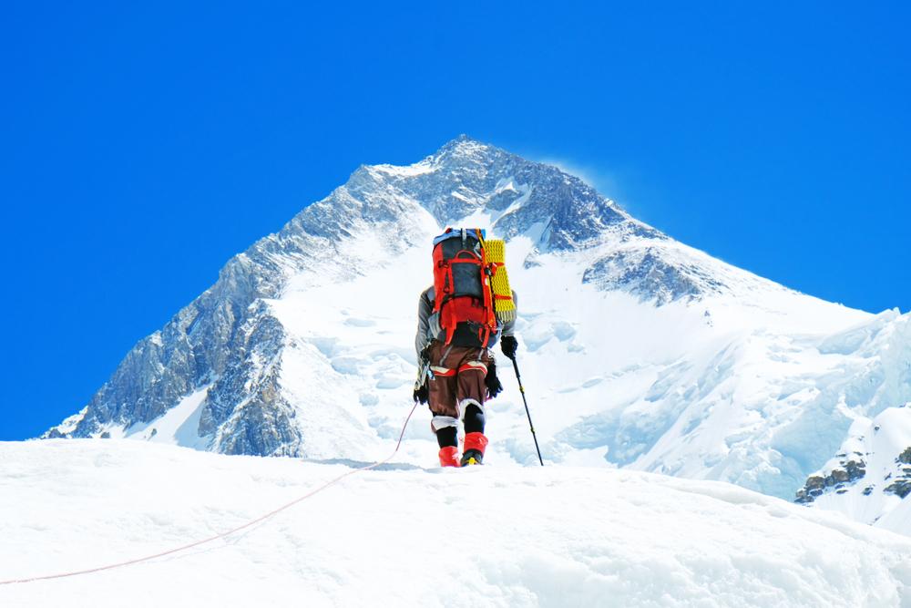Ορειβάτης στο Εβερεστ