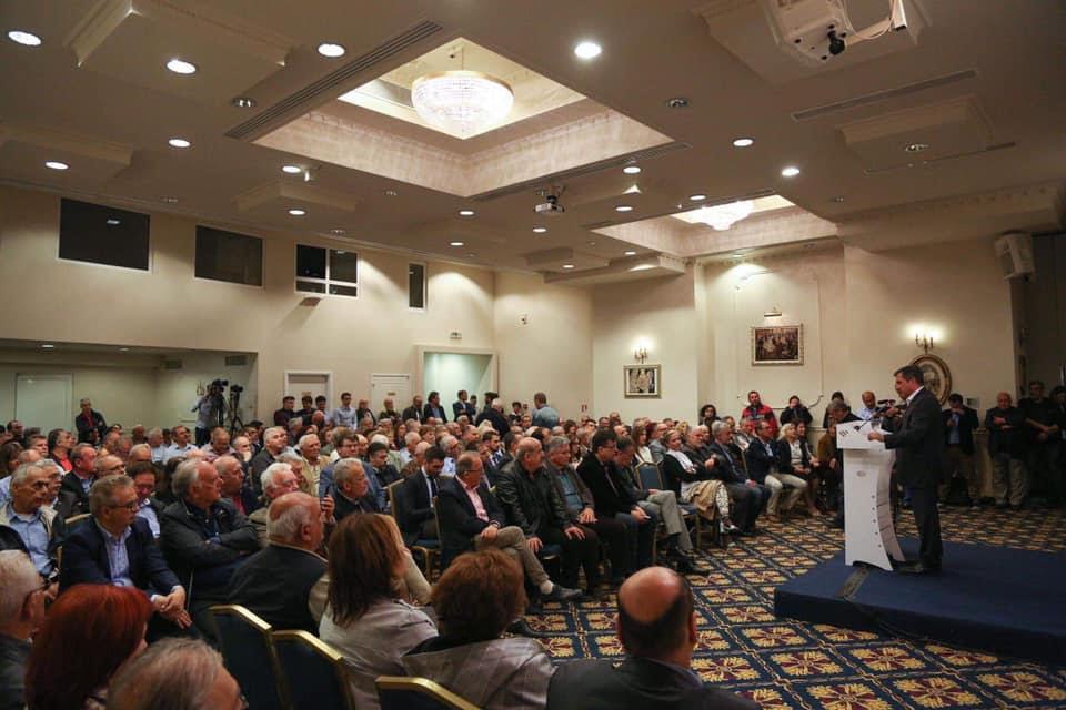 Ομιλία του Γιώργου Καμίνη στο Ηράκλειο Κρήτης
