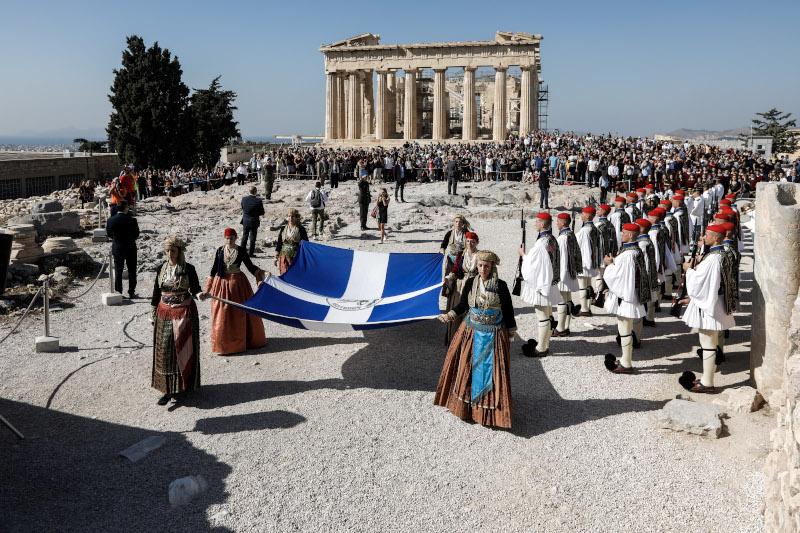 ελληνικη σημαία