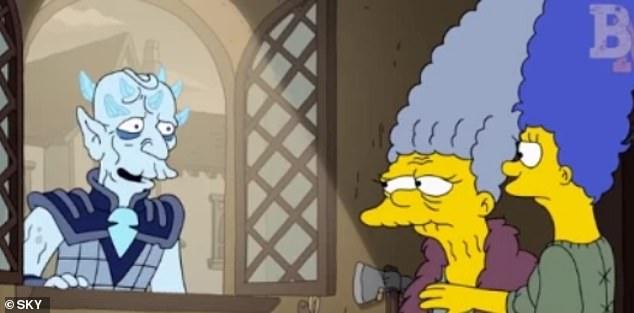 Στιγμιότυπο από το επεισόδιο των Simpsons που προβλήθηκε το 2017