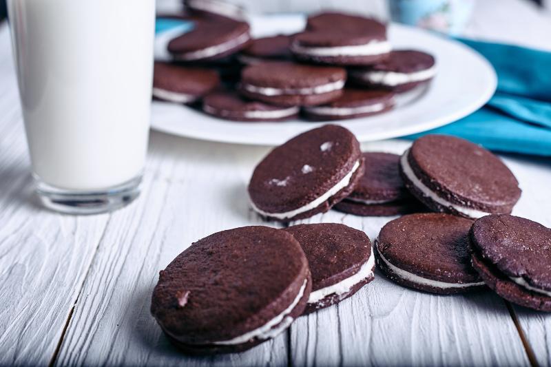 Λαχταριστά σπιτικά μπισκότα Oreo -Συνταγή
