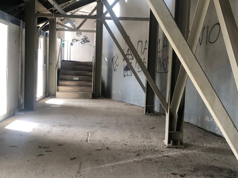 Οι εσωτερικοί διάδρομοι για τις εξέδρες