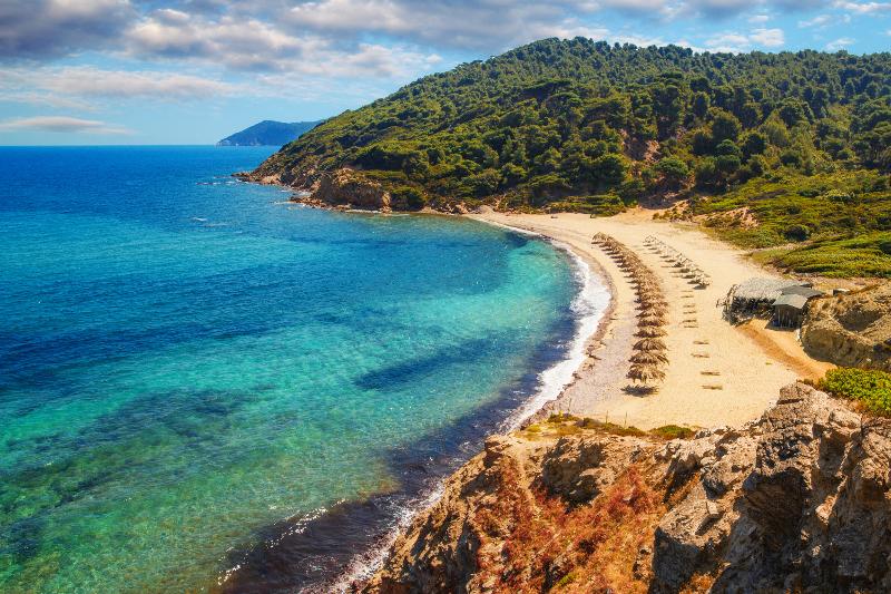 παραλία της Σκιάθου
