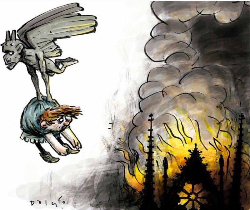 Ο Κουασιμόδος δραπετεύει από τη φωτιά