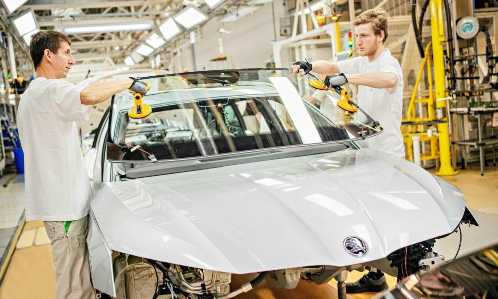 H νέα Skoda Octavia μπήκε στη γραμμή παραγωγής