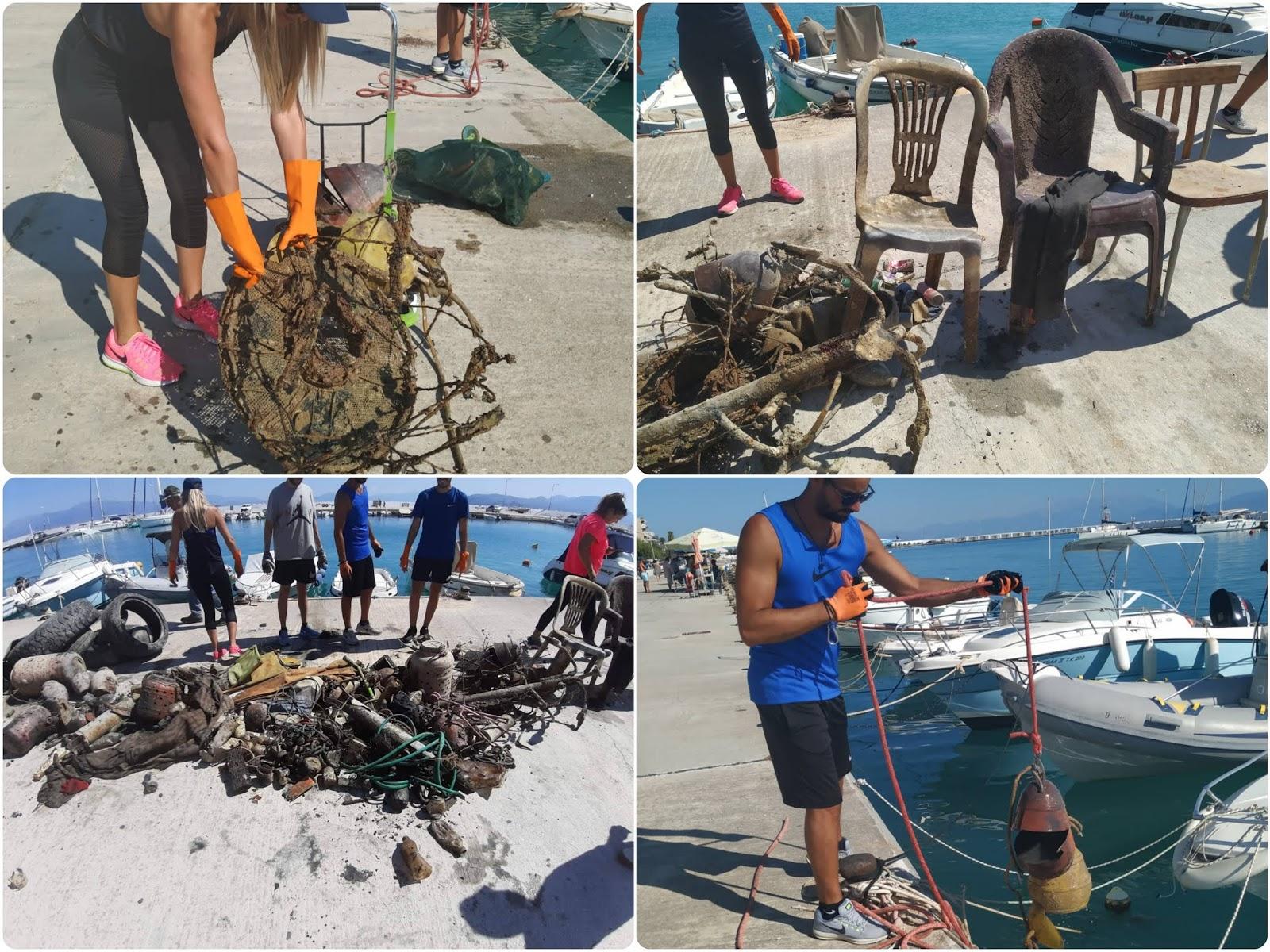 σκουπιδια θαλασσα
