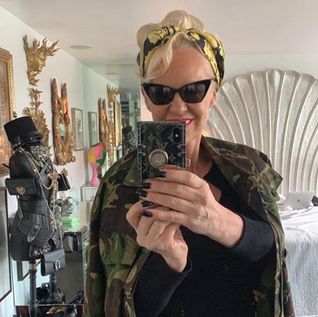 Selfie της ΑΜάντα Ελιάς