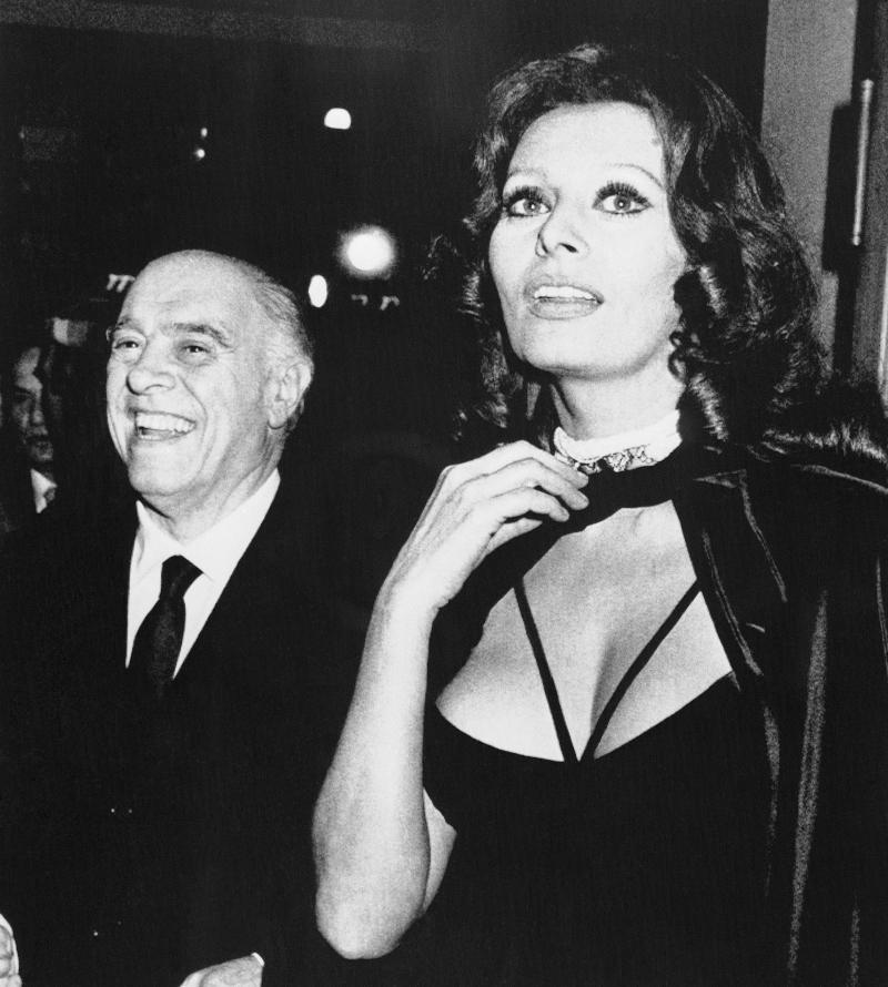 Sophia Loren, Carlo Ponti το 1979