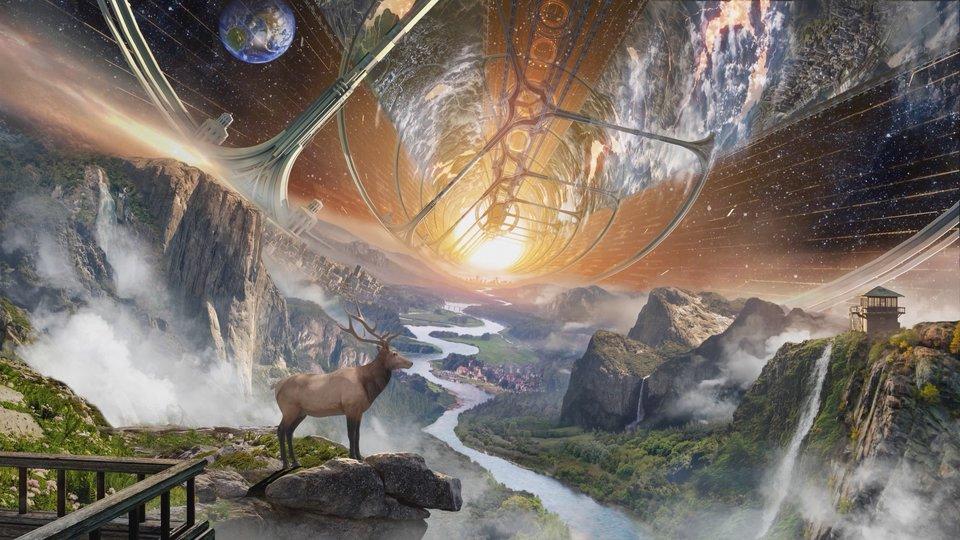 Σύμφωνα με τον Τζεφ Μπέζος ακόμη και εθνικά πάρκα θα μπορούσαν να δημιουργηθούν στο διάστημα.