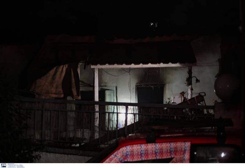 Το σπίτι του 68χρονου που τυλίχθηκε στις φλόγες