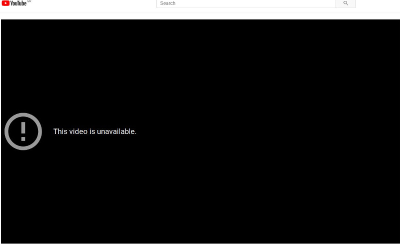 «Το βίντεο δεν είναι διαθέσιμο» αναφέρει το σχετικό λινκ στο YouTube μόλις κατέβηκε το προεκλογικό σποτ του ΣΥΡΙΖΑ