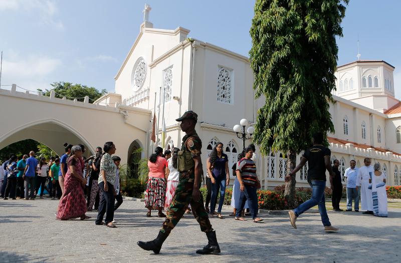 Επιθέσεις στη Σρι Λάνκα