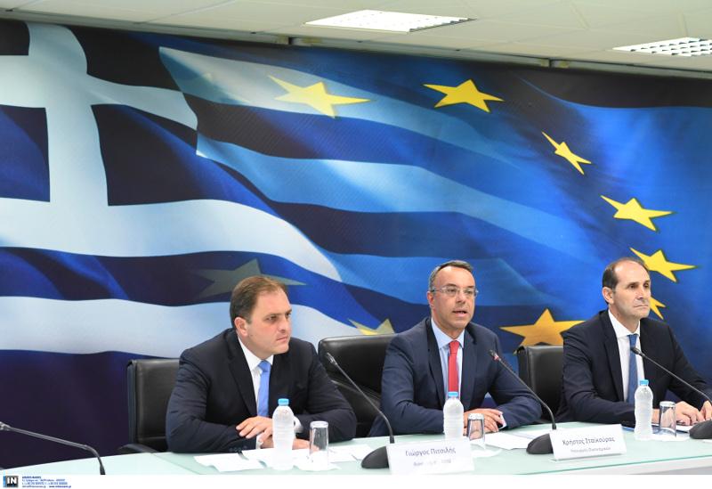 Γιώργος Πιτσιλής, Χρήστος Σταϊκούρας και Απόστολος Βεσυρόπουλος C