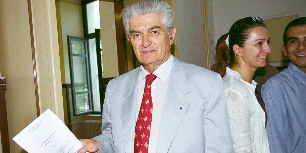 Ο Γιάννης Σταμούλης που είχε εκκινήσει την υπόθεση αποζημιώσεων για το Δίστομο
