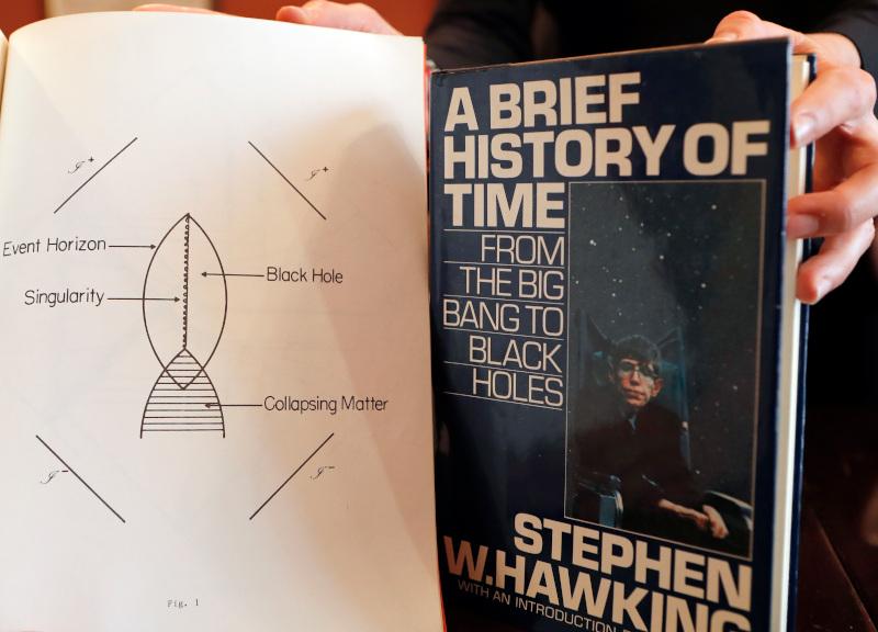 Το βιβλίο του Stephen Hawking