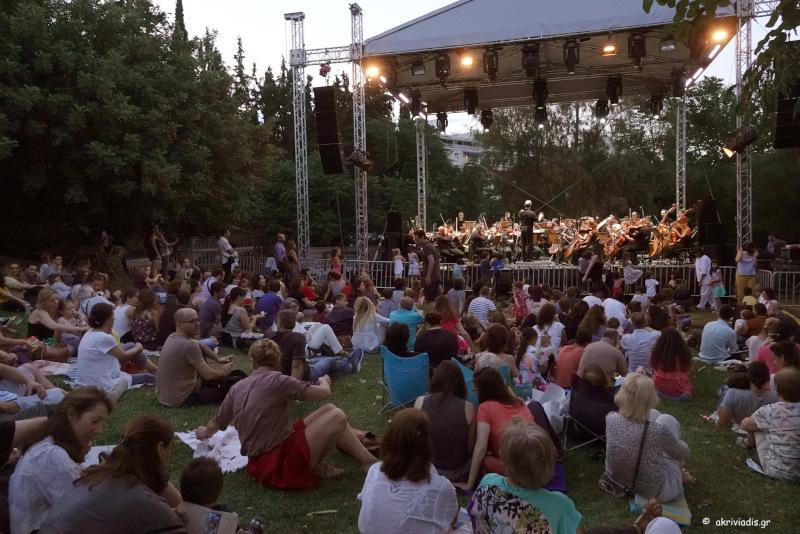 Συναυλία στον Κήπο του Μεγάρου
