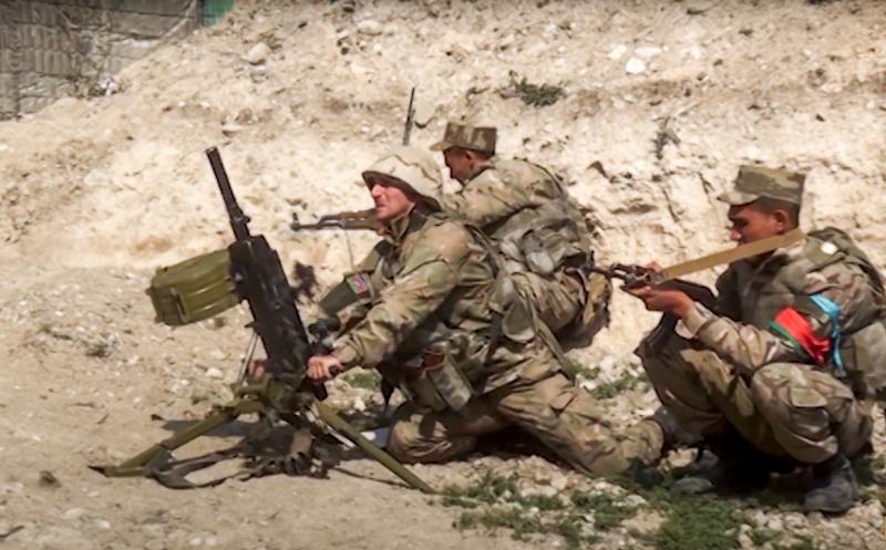 Στρατιώτες του Αζερμπαϊτζάν