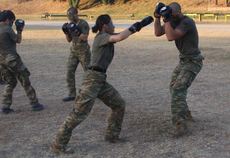 Εκπαίδευση σε μάχη σώμα με σώμα