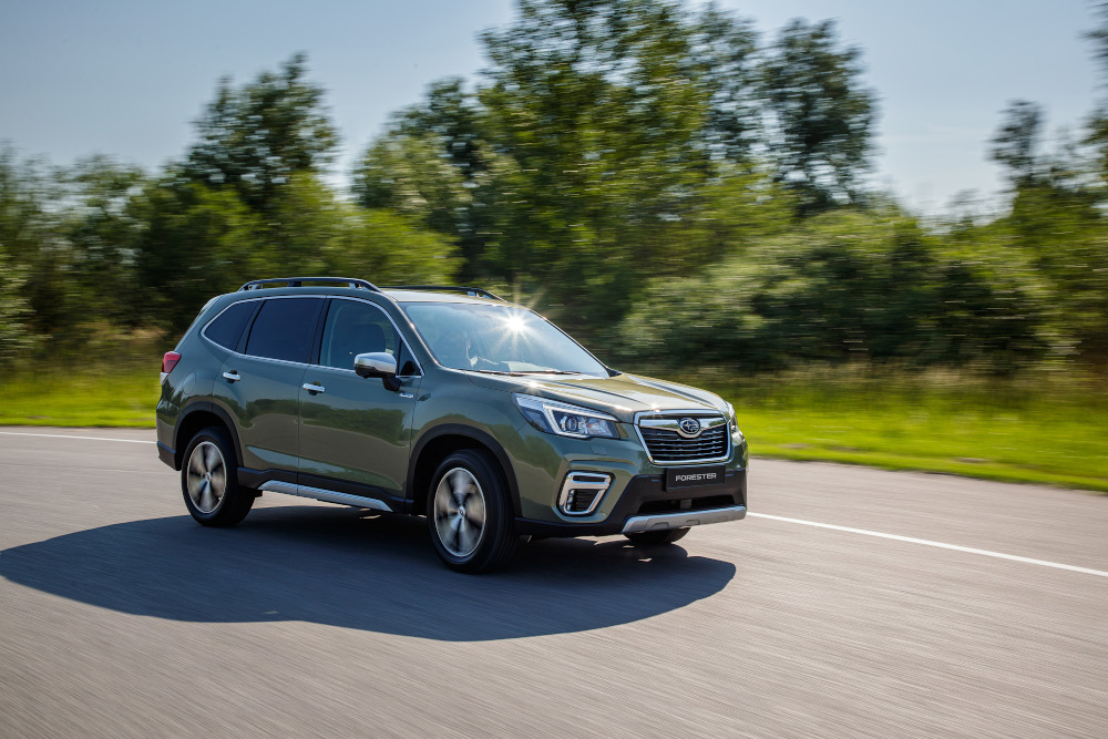 Διάκριση για το Subaru Forester στον τομέα της ασφάλειας