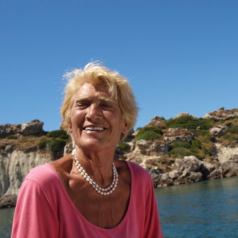 η κυρία Αναστασία Γερολυμάτου πρόκειται να επιχειρήσει να κάνει τον διάπλου Κυλλήνη – Σκάλα με ιστιοσανίδα