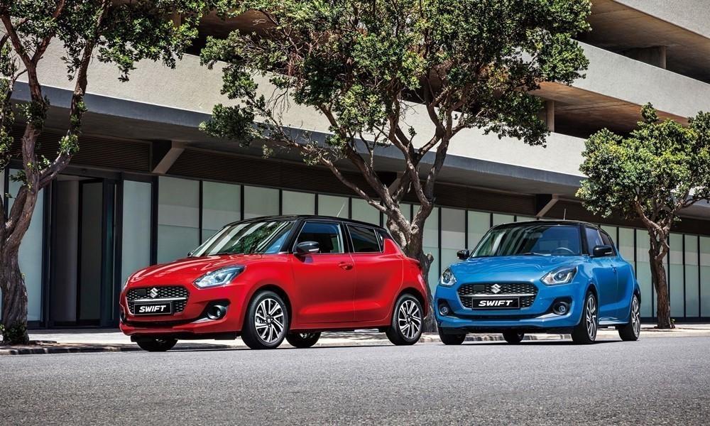 H Suzuki λανσάρει το ανανεωμένο Swift