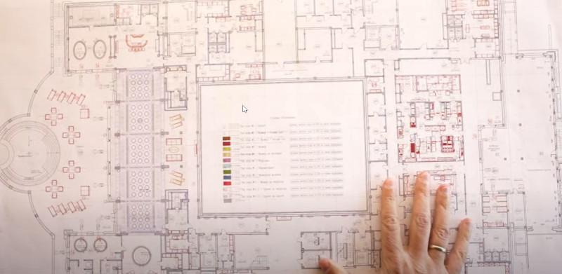 Τα σχέδια του Παλατιού του Πούτιν, που ισχυρίζεται πως έχει στην κατοχή του ο Ναβάλνι
