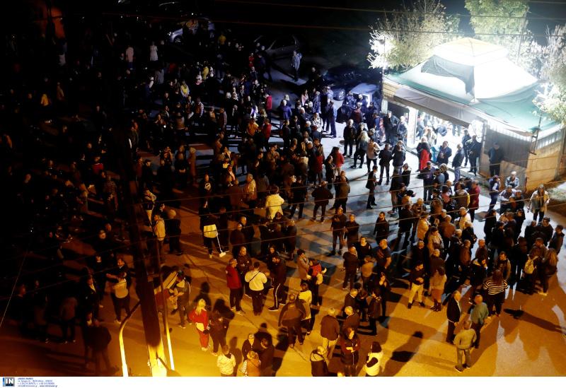 Συγκέντρωση διαμαρτυρίας κατοίκων στα Διαβατά
