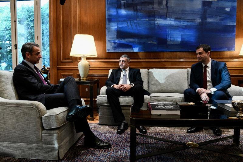 Συνάντηση του Πρωθυπουργού Κυριάκου Μητσοτάκη με τον Γενικό Γραμματέα του Παγκόσμιου Οργανισμού Τουρισμού